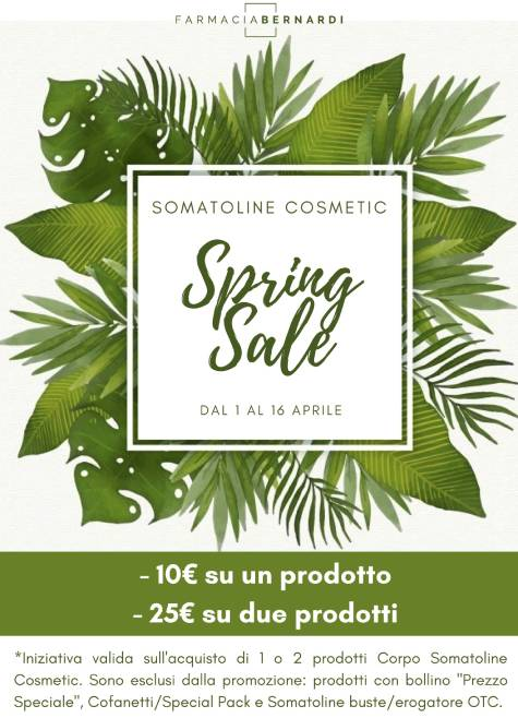 Somatoline Cosmetic: offerte farmacia aprile 2020
