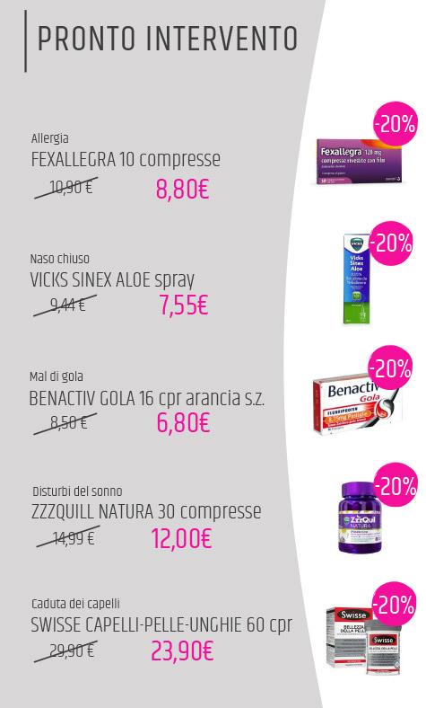 offerte farmacia maggio 2020