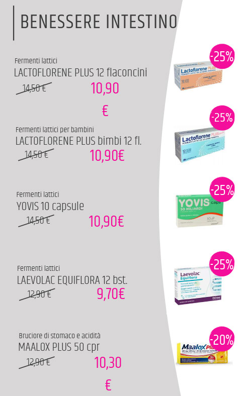 Offerte farmacia estate 2020