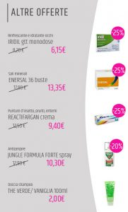 Offerte farmacia estate 2020