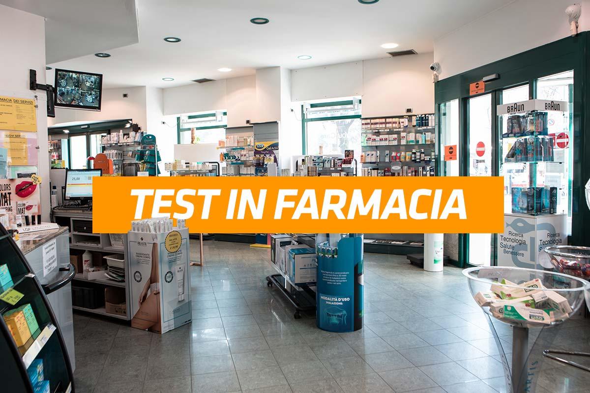 test in farmacia a torino