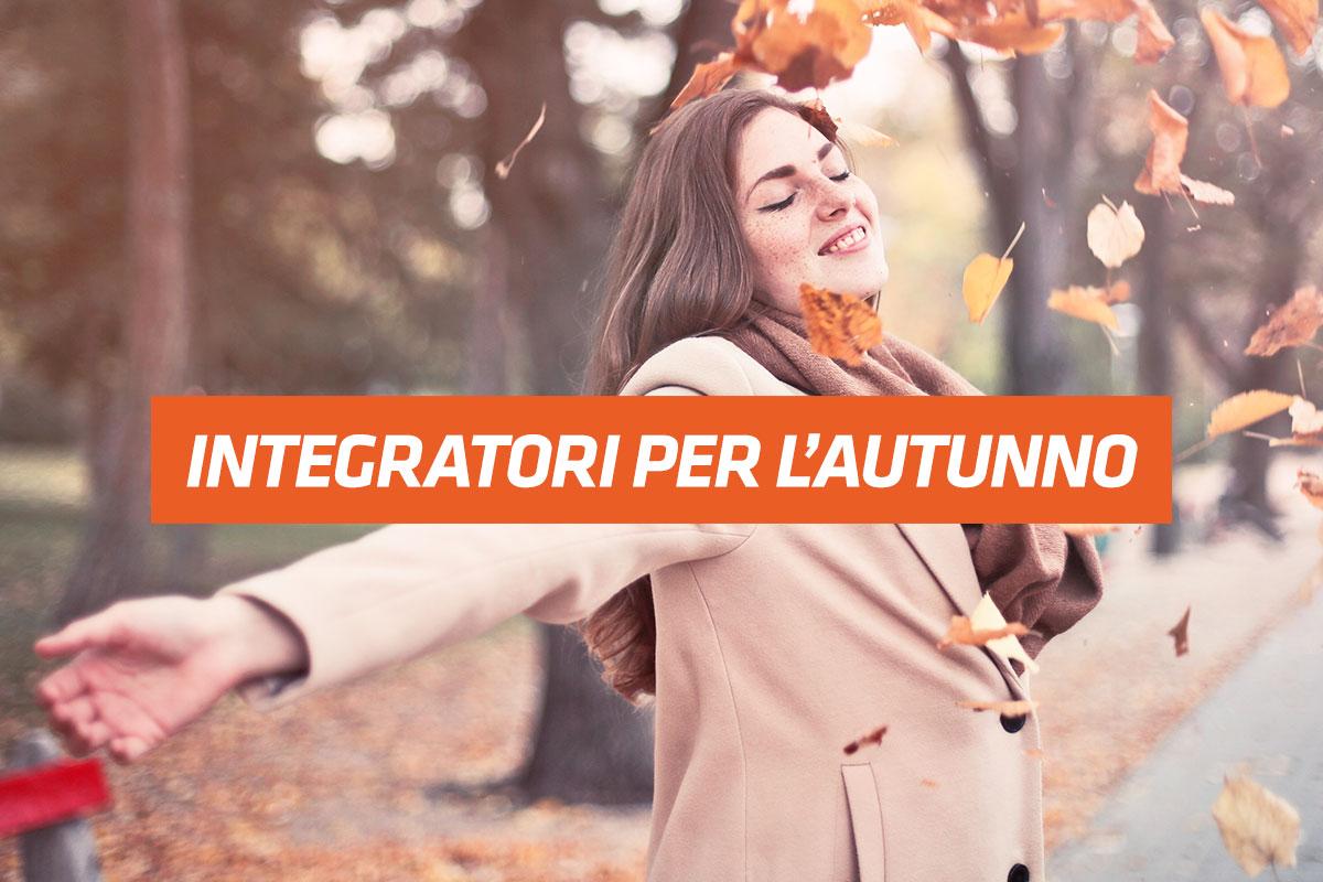 integratori per l'autunno