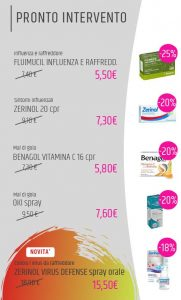 offerte farmacia dicembre 2020
