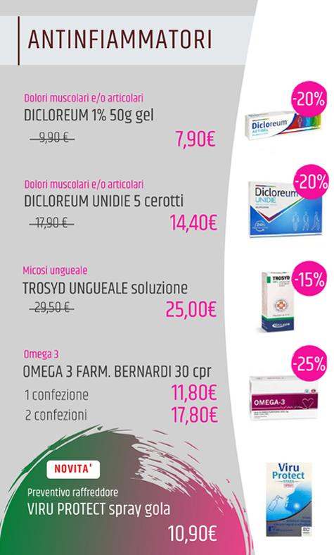 Offerte farmacia aprile maggio 2021